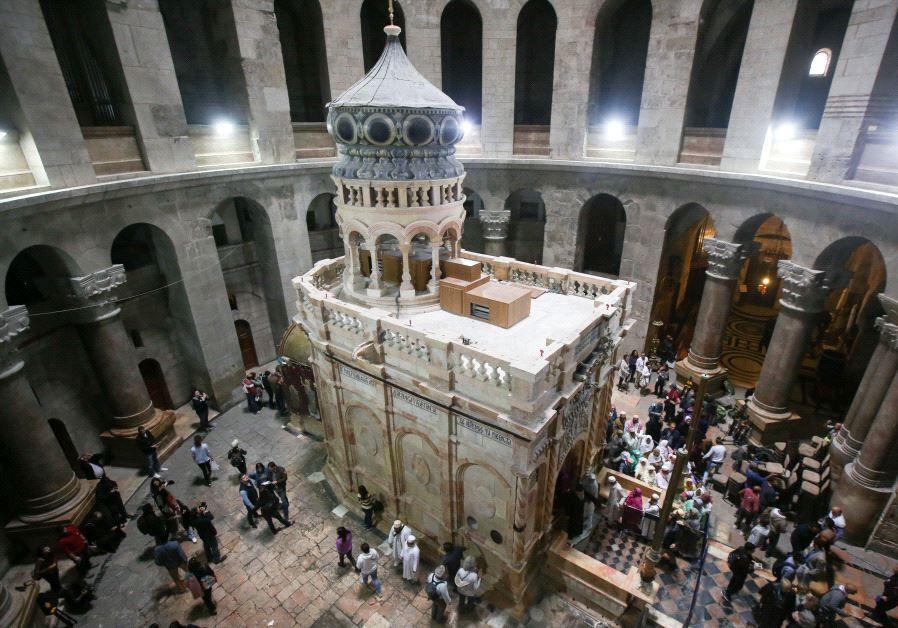 tumba de jesús