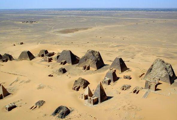 Pirámides nubias